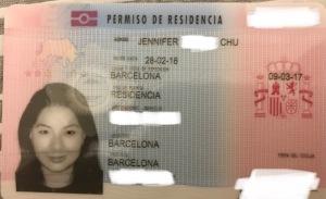 Jenny Residency Card