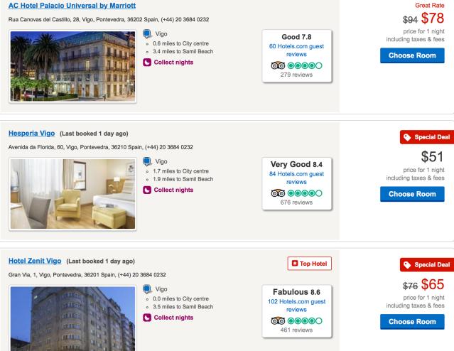 Hotel Options in Vigo Budget Travel Guide To Galicia