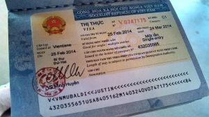 Vietnam-visa Example