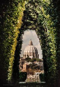 Vatican Keyhole