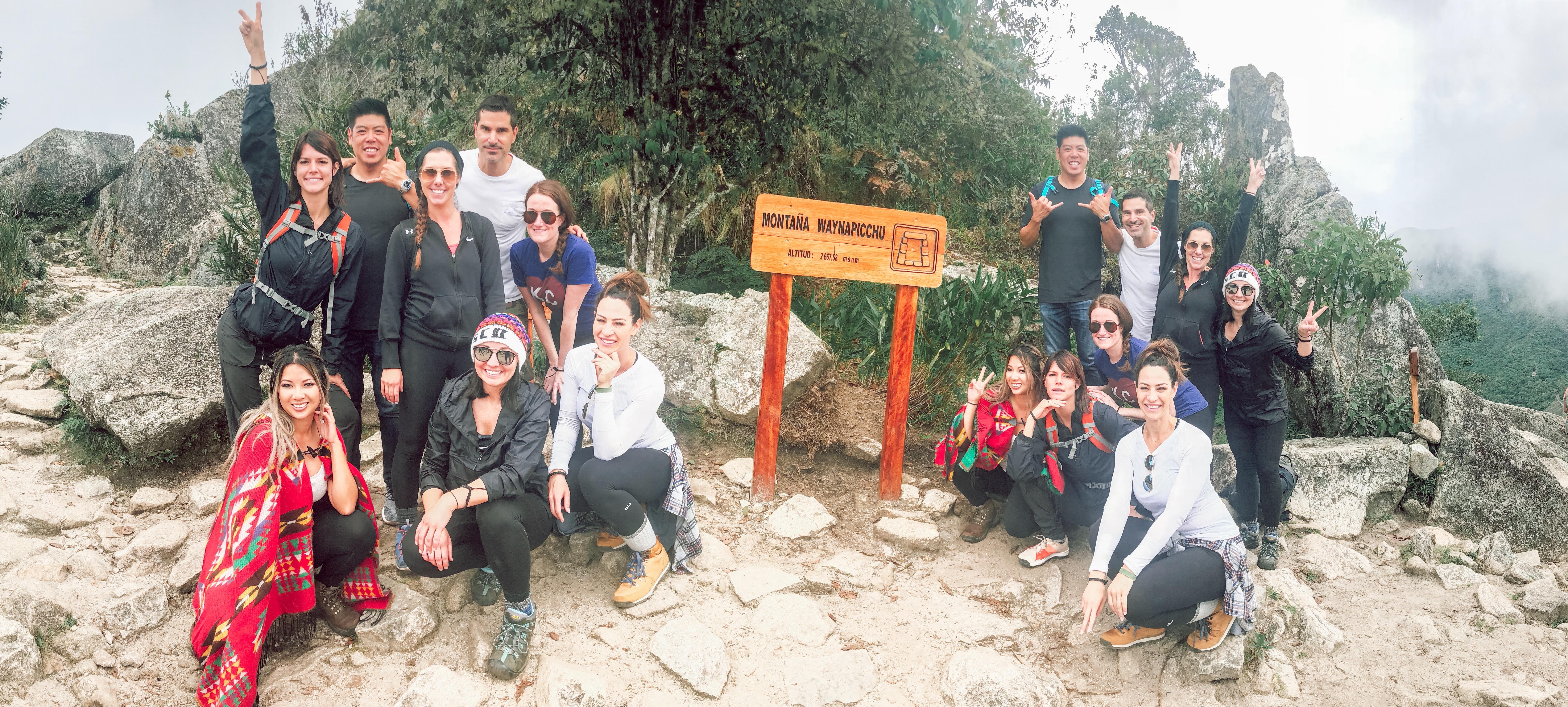 Group Machu Picchu