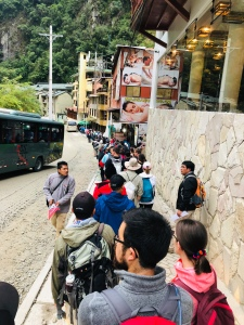 Line for Bus