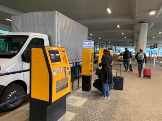 Airport Public Transport Kiosk