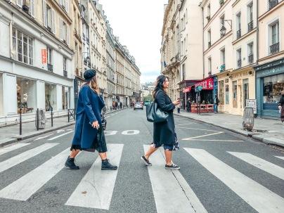 Beatles walking