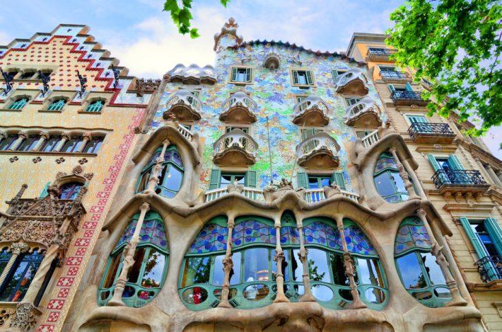 Casa Batllo by Antoni Gaudi, Barcelona
